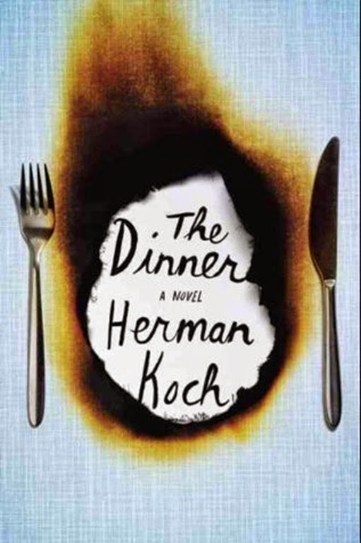 Book Cover of The Dinner by Herman Koch