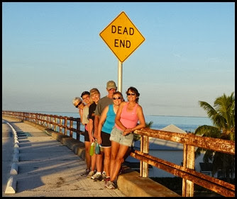 09a3 - early morning 7 mile bridge walk - yep we went all the way to the end