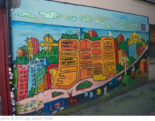 'Community Art mural, Brighton, UK' photo (c) 2012, Jay Galvin - license: http://creativecommons.org/licenses/by/2.0/