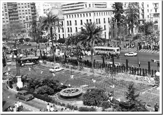 1986 aquellas mascletas de la ferroviaria 18-03-1986.- Mascletás de La Ferroviaria.- Esteban Gonzalo