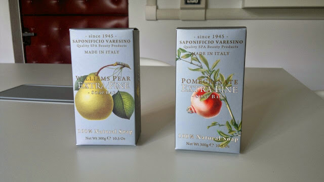 soap gift sets made in italy pear