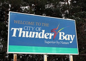 Thunder Bay Sign