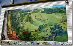Mural at Comboyne NSW
