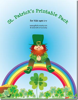 st. patrick's printables