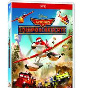 Aviones 2, equipo de rescate DVD: Pelicula y material extra