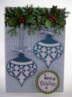 Hanging Snowflake Ornaments Card1
