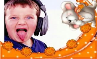 Screenshot of Kid Frame Photo