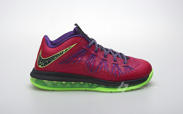 Nike Air Max LeBron X Low 8220Raspberry8221 Official Release Date