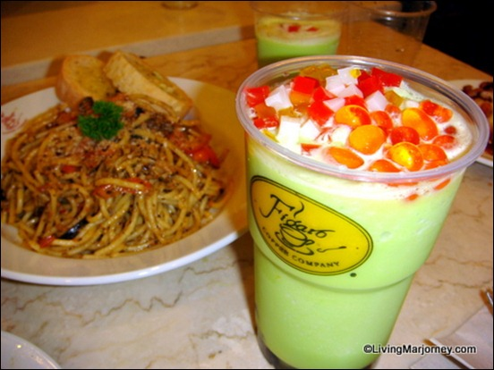 Honeydew Frost with Figaro Tea