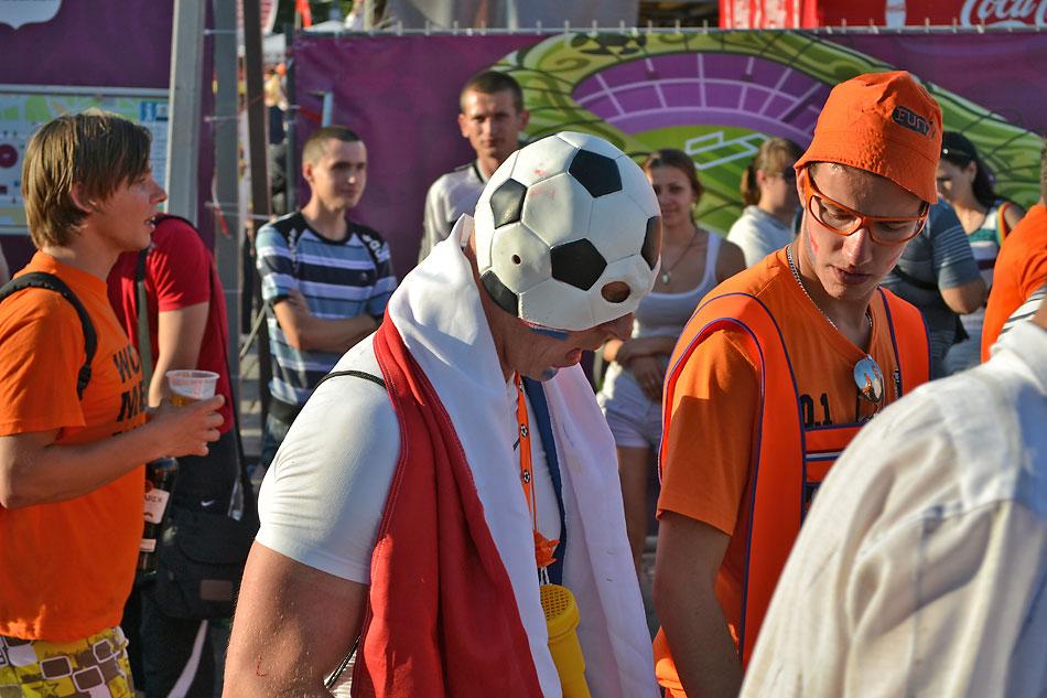 Евро 2012 по футболу. Харьков. 13 июня. Перед матчем Голландия - Германия - 90