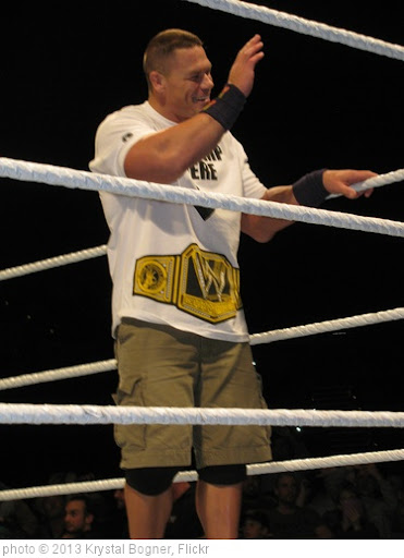 'John Cena' photo (c) 2013, Krystal Bogner - license: http://creativecommons.org/licenses/by/2.0/