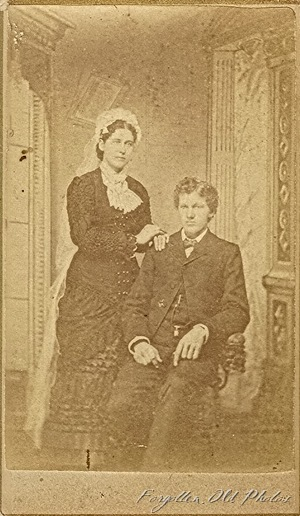 Wedding Solway Antiques CdV