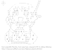 [AA]Yuno AirDance (Hidamari Sketch)