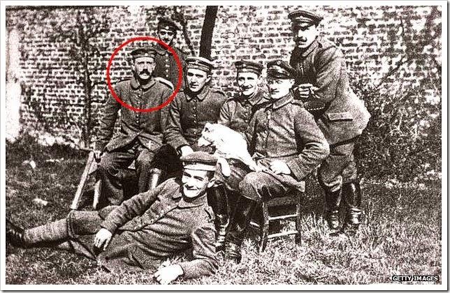 Hitler na Primeira Guerra Mundial