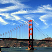 Clouds over Golden Gate Bridge