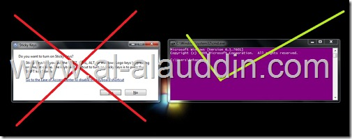sticky function become cmd by Al-alauddin.com