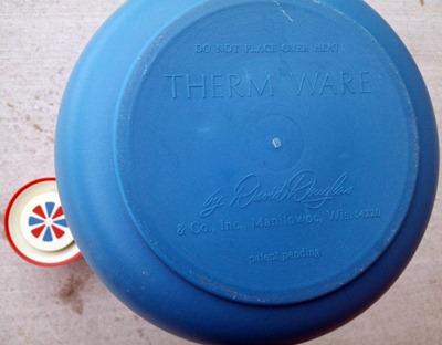David Douglas Therm Ware carafe, blue