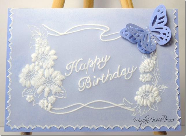 Parchment Birthday