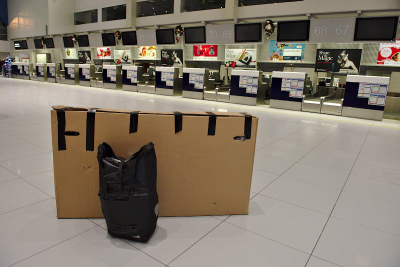 Gata de plecare, si tot bagajul impachetat