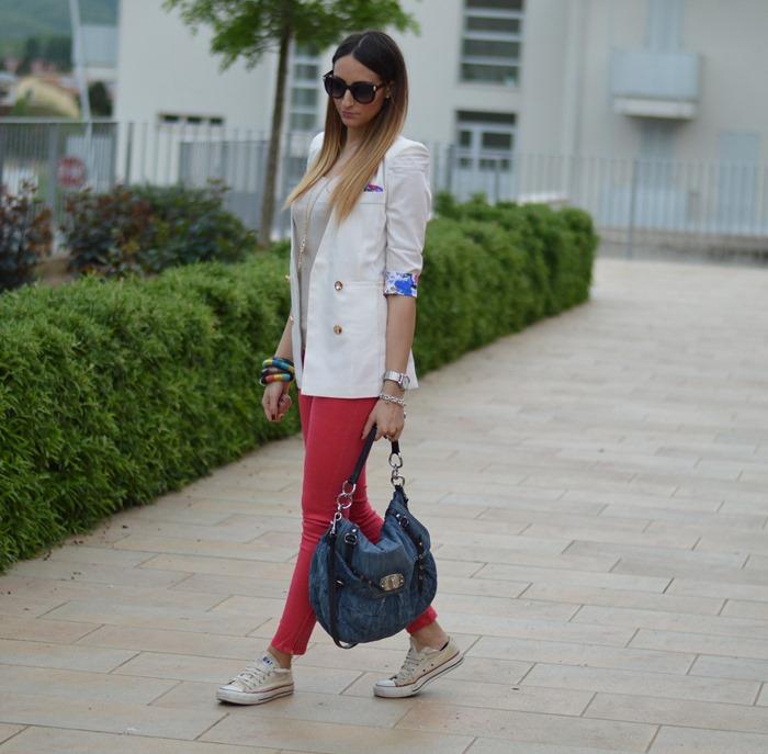 Zara pants, Converse, Converse sneakers, all star, all star sneakers, primark, primark sunglasses, primark necklace, miu miu, miu miu bag, fashion blogger, fashion blogger italiane, elisa taviti, my fantabulous world, fashion blogger italiane