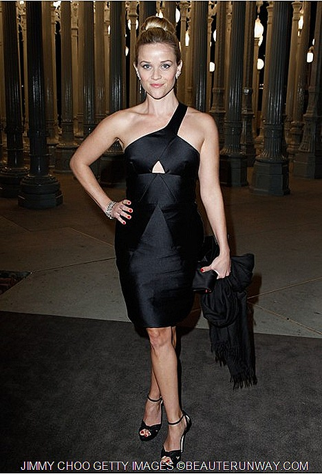Reese Witherspoon Jimmy Choo Greta - Lacma Film & Art Festival LA