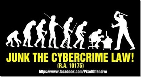 junk the cybercrime law