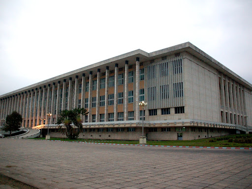 Palais du peuple. Radio Okapi/ Ph. John Bompengo