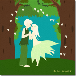 mariage couple elfes foret enchantee zazzle feerepart_thumb[2]