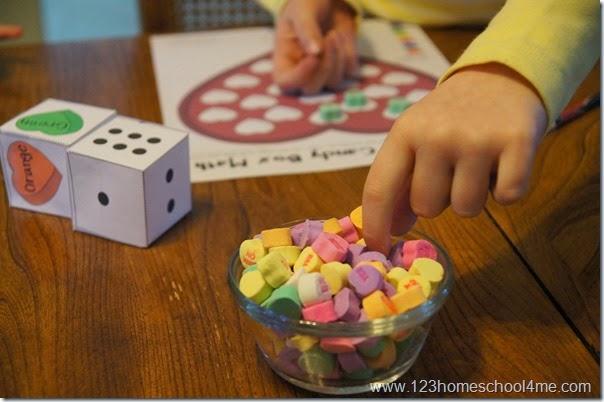 Valentines Day Math - Kindergarten, 1st grade, 2nd grade, 3rd grade
