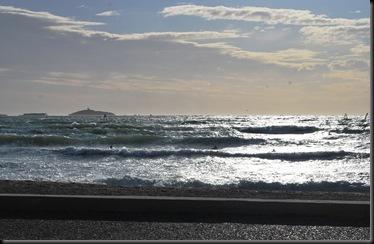 Surfers at Six-Fours-les-Plages