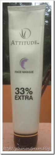Amway Attitude Face Masque