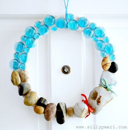 Beach Rock Wreath by The Silly Pearl