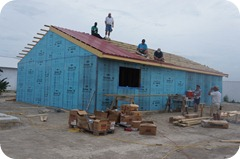 Medical housing unit gets a roof