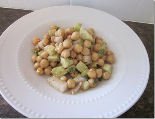 Gluten Free in Utah: Gluten Free Greek Style Chickpea Salad