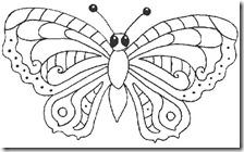 colorear mariposas pintaryjugar com (10)