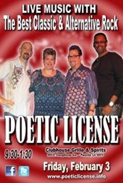 George Poetic License