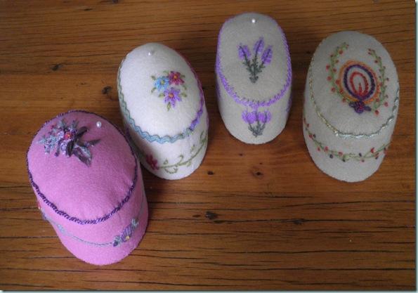 Oval Emb Pincushions