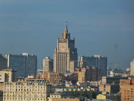 Obiective turistice Moscova: Dealurile Lenin - una dintre cele 7 surori