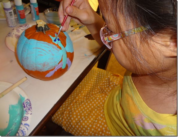 Painting Pumpkins 07
