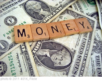 'Money' photo (c) 2011, 401K - license: http://creativecommons.org/licenses/by-sa/2.0/