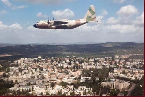 Negara Zionis Israel Dari Atas Langit2