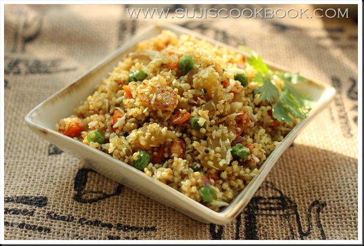 Quinoa upuma