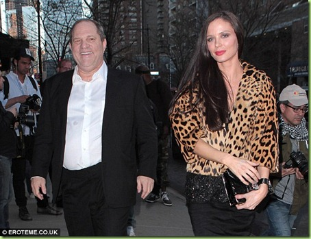 fat Harvey weinstein georgina chapman