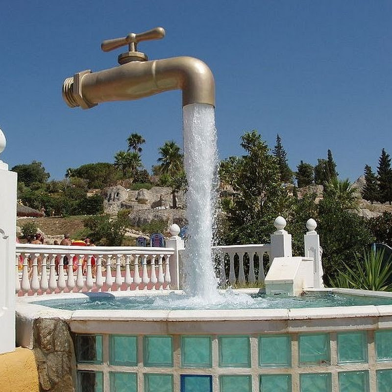 Magical Floating Faucet Fountains