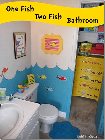 ObSEUSSed One Fish Two Fish Bathroom Dresser And Activities