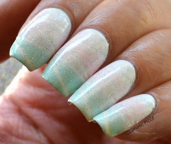 Taping Gradient Nail Art