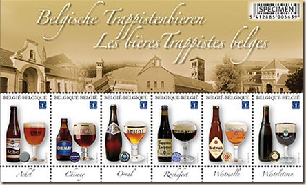 trappist beer stamps