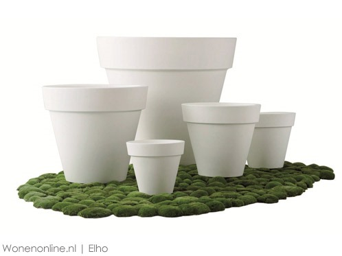 Elho-Pure-Round-Plantenbak-50