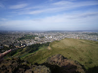 View from the top of Arthur\'s Seat