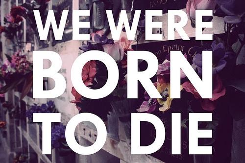 we_were_born_to_die_quote